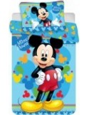 Lenjerie patut Mickey (100×135 cm, 40×60 cm)