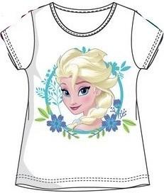 Tricou Frozen 2 alb