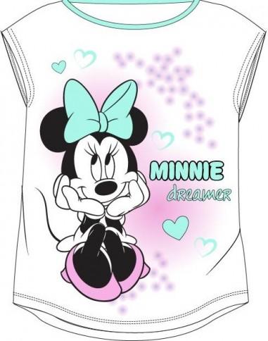 Tricou Minnie 2 alb