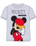 Tricou Mickey gri