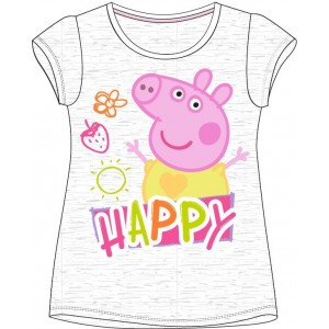 Tricou Peppa Pig 1 gri