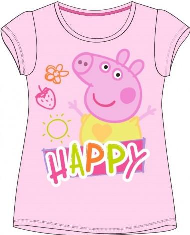 Tricou Peppa Pig 1 roz