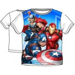 Tricou Avengers alb