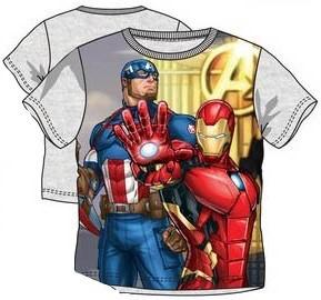 Tricou Avengers gri