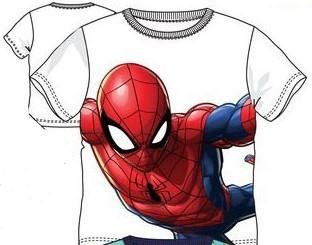 Tricou Spiderman alb