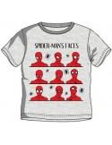 Tricou Spiderman gri
