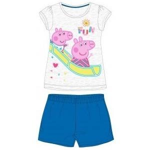 Pijamale Peppa pig 1 albastru