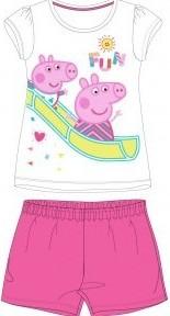 Pijamale Peppa pig 1 roz