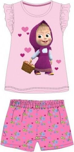 Pijamale Masha roz