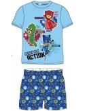 Pijamale Eroi in pijamale albastru