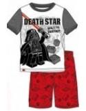 Pijamale baieti Star Wars rosu
