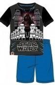 Pijamale baieti Star Wars albastru