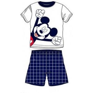 Pijamale baieti Mickey gri