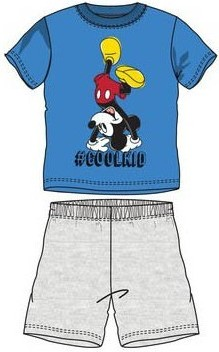 Pijamale baieti Mickey albastru