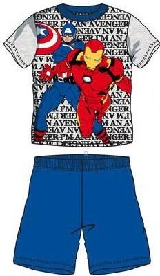 Pijamale baieti Avengers albastru
