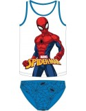 Set maieu cu chiloti Spiderman albastru