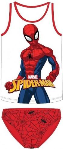 Set maieu cu chiloti Spiderman rosu