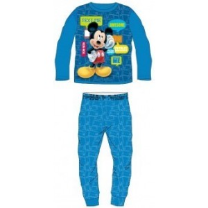 Pijamale copii Mickey albastru deschis
