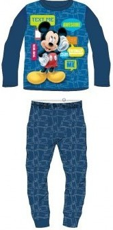 Pijamale copii Mickey albastru
