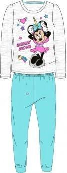 Pijamale copii Minnie albastru