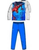 Pijamale copii Spiderman albastru