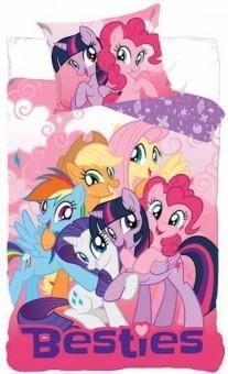 Lenjerie pat My Little Pony (160 x 200 cm, 70 x 80 cm)