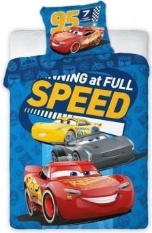 Lenjerie patut Cars (100×135 cm, 40×60 cm)