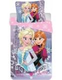 Lenjerie patut Frozen (90×140 cm, 40×55 cm)