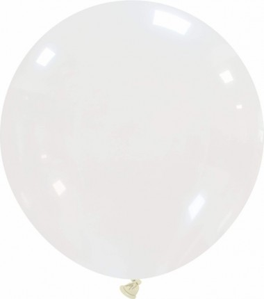 Balon latex jumbo 80 cm transparent