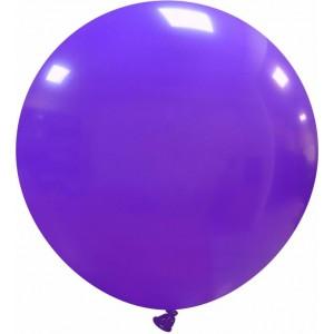 Balon latex jumbo 80 cm mov
