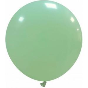 Balon latex jumbo 45 cm verde menta