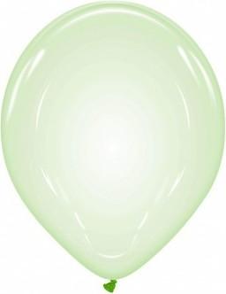 Baloane latex bubble 33 cm verde