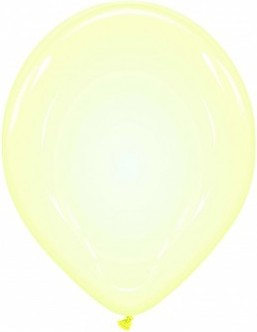Baloane latex soap bubble 33 cm galben