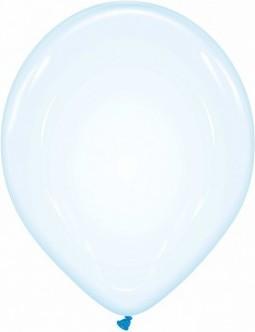Baloane latex soap bubble 33 cm albastru
