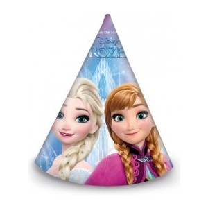 Set 6 coifuri din carton Frozen