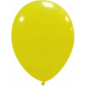 Balon latex galben deschis 13 cm