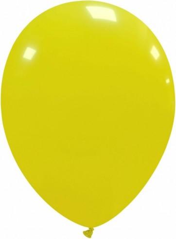 Balon latex galben deschis 26 cm