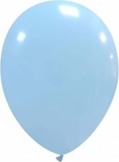 Balon latex baby-blue 26 cm