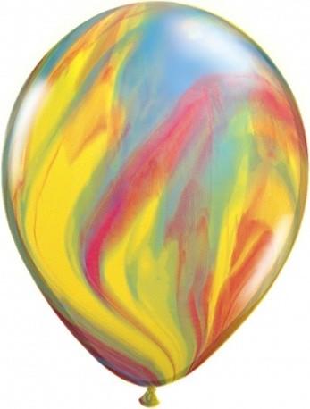 Baloane marmorate din latex 30 cm (marbled)
