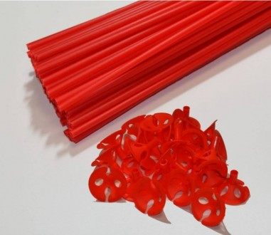 sticks rosu pentru baloane