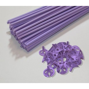 sticks liliac pentru baloane
