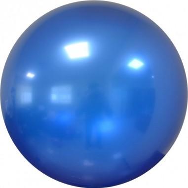 Balon chrome bubble albastru 61 cm