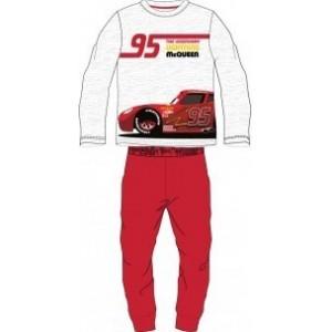 Pijamale pentru copii cars, rosu
