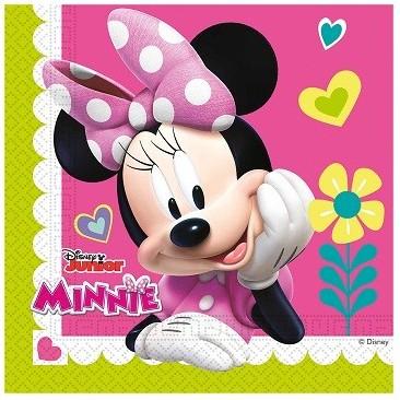 Set 20 servetele Minnie, 33 cm x 33 cm