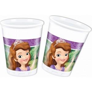 Set 8 pahare plastic Minnie