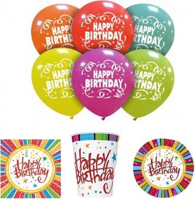 Set articole party happy birthday