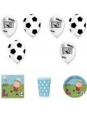 Set articole party micul fotbalist