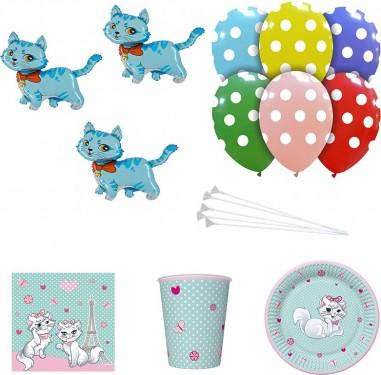 Set articole party pisica albastra
