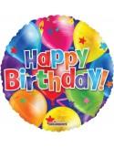 Balon folie 45 cm Happy Birthday