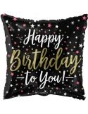 Balon folie 45 cm Happy Birthday 3